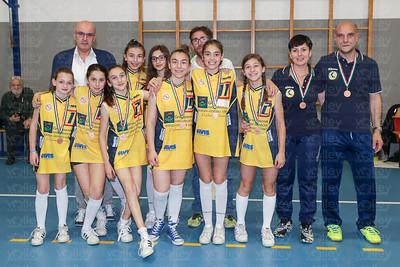 PREMIAZIONI Coppa Under 13 - Stagione 2016/2017 1^ CS Alba 2^ Pallavolo Olgiate 3^ Union Volley Mariano 4^ Polisportiva Azzurra  Coppa Under 13 Misto - Stagione 2016/2017 1^ Alebbio Mx 2^ GS Rastà Mx