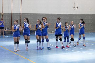 Union Volley Mariano 2 - Pol. Azzurra 0 Finale 3/4 posto - Coppa Under 13 - Stagione 2016/2017 Albese con Cassano (CO) - 21 maggio 2017