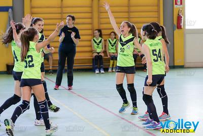 Virtus Cermenate 2 - Pallavolo Arosio 3 9^ Giornata Trofeo Primavera U13F 2016/2017 Cermenate (CO) - 8 aprile 2017
