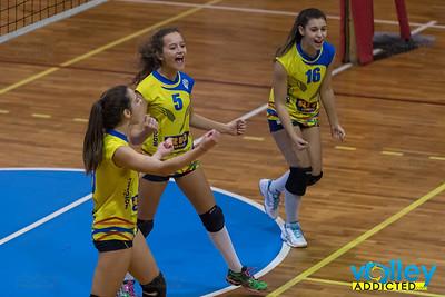 Pallavolo Arosio 1 - Virtus Cermenate 3 9^ Giornata Under 16 Femminile 2016/2017 Arosio (CO) - 10 dicembre 2016