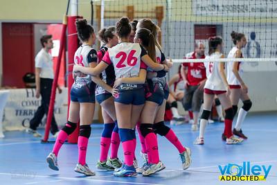 Sanpaolo Cantù Rossa 3 - Longone Volley 1 Finale 3 posto Under 16 Femminile 2016/2017 Cagno (CO) - 9 aprile 2017