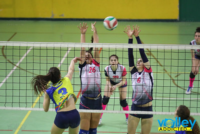 Virtus Cermenate 3 - Longone Volley 0 Semifinale di Ritorno Under 16 Femminile 2016/2017 Cermenate (CO) - 30 marzo 2017