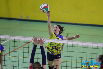 Virtus Cermenate 3 - Longone Volley 0 Semifinale di Ritorno Under 16 Femminile 2016/2017 Cermenate (CO) - 30 marzo 2017