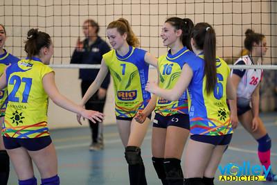 Longone Volley 1 - Virtus Cermenate 3 Semifinale di Andata Under 16 Femminile 2016/2017 Longone al Segrino (CO) - 25 marzo 2017