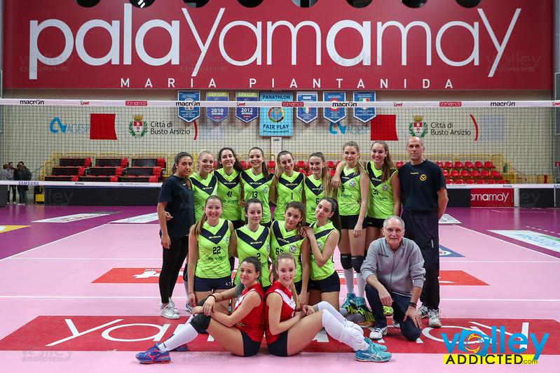 Unet Yamamay Busto Arsizio 3 - Virtus Cermenate 0 Under 18 Femminile 2015/2016 Prima Fase Regionale Palayamamay - Busto Arsizio (VA) - 29 marzo 2017