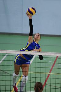 Virtus Cermenate 3 - Ristorante Orologio Como Volley 1 5^ Giornata Seconda Divisione Femminile 2018/19 Cermenate (CO) - 15 novembre 2018