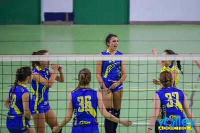 Virtus Cermenate 3 - Olimpia Hazzard 0 1^ Giornata Seconda Fase U18f 2018/2019 Cermenate (CO) - 15 gennaio 2019