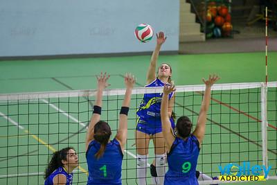 Virtus Cermenate 3 - Gelateria Cagliani Vivi Volley 1 14^ Giornata Serie Df 2018/19 Lombardia Cermenate (CO) - 2 febbraio 2019