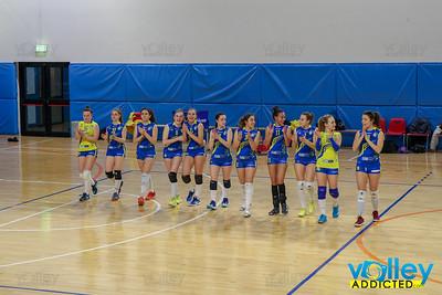 Viscontini Volley Milano 1 - Virtus Cermenate 3 18^ Giornata Serie Df 2018/19 Lombardia Milano - 2 marzo 2019