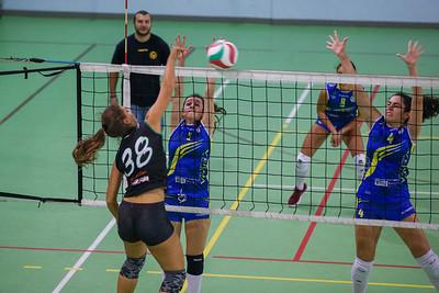 Virtus Cermenate 0 - Verve Polisportiva Solaro 3 2^ Giornata Serie D Femminile 2018/2019 FIPAV Lombardia Cermenate (CO) - 20 ottobre 2018