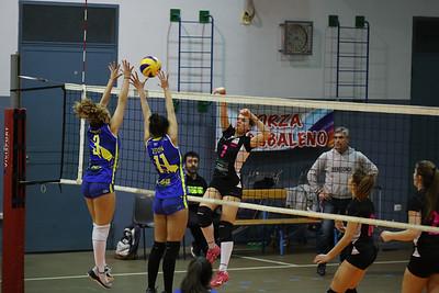 Progetto Volley Arcobaleno 3 - Virtus Cermenate 0 20^ Giornata Serie Df 2018/19 Lombardia Venegono Inferiore (VA) - 16 marzo 2019