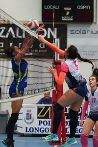 Volley Longone 2 - Virtus Cermenate 3 22^ Giornata Serie Df 2018/19 Lombardia Longone al Segrino (CO) - 30 marzo 2019