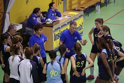Virtus Cermenate 3 - Viscontini Volley Milano SU 1 5^ Giornata Serie Df 2018/19 Lombardia Cermenate (CO) - 10 novembre 2018