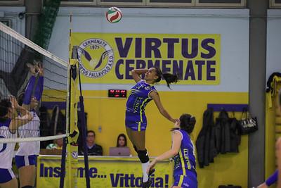 Serie D Femminile 2019/20 Lombardia - 11^ Giornata Virtus Cermenate 3 - Immobiliare Segrate Cermenate (CO) - 12 gennaio 2020