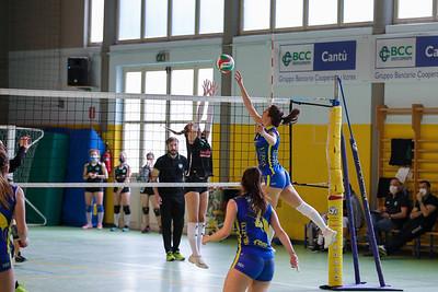 VIRTUS CERMENATE 3 MAPI PALLAVOLO RHO 0  Serie C Femminile 2020/21 Lombardia - 11^ Giornata Cermenate (CO) - 15 maggio 2021