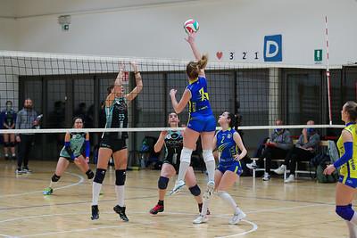 CACCIATORI DELLE ALPI 2 - VIRTUS CERMENATE 3 Serie C Femminile 2020/21 Lombardia - 6^ Giornata San Fermo della Battaglia (CO) - 10 aprile 2021