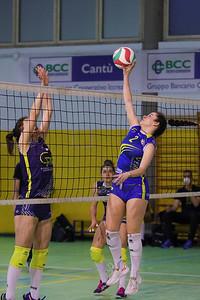 VIRTUS CERMENATE 0 - LAZZATE VOLLEY 3 Serie C Femminile 2020/21 Lombardia - 7^ Giornata Cermenate (CO) - 17 aprile 2021