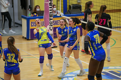 VERO VOLLEY ARCOBALENO CISTELLUM 3 - VIRTUS CERMENATE 1 Serie C Femminile 2020/21 Lombardia - 8^ Giornata Cislago (VA) - 24 aprile 2021