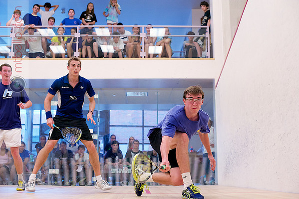 2012 Squash and Beyond Exhibitions: Nick Matthew and Andy Cannon/Greg McArthur
