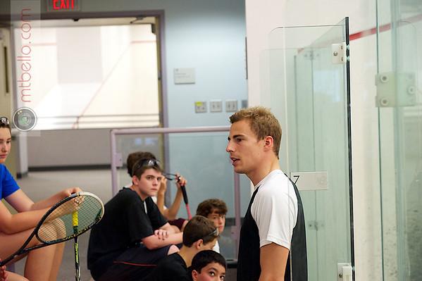 2012 Squash and Beyond Candid: Nick Matthew