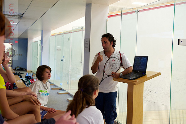 2012 Squash and Beyond Candid: Zafi Levy
