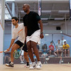 2012 World Class Squash Camp: Shahier Razik (Canada) and Lekgotla Mosope (Botswana)