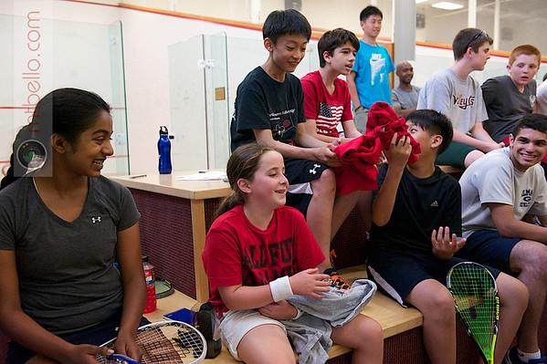2012 World Class Squash Camp: Campers