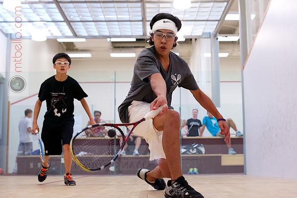 2012 World Class Squash Camp: Championship Match (Juniors)