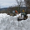 Snow clearing reaches Haughead - 13 hours work overnight clears a mile