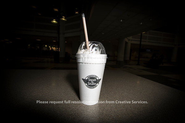 Steak and Shake milkshake
