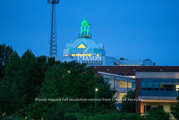 Johnson Center green spier