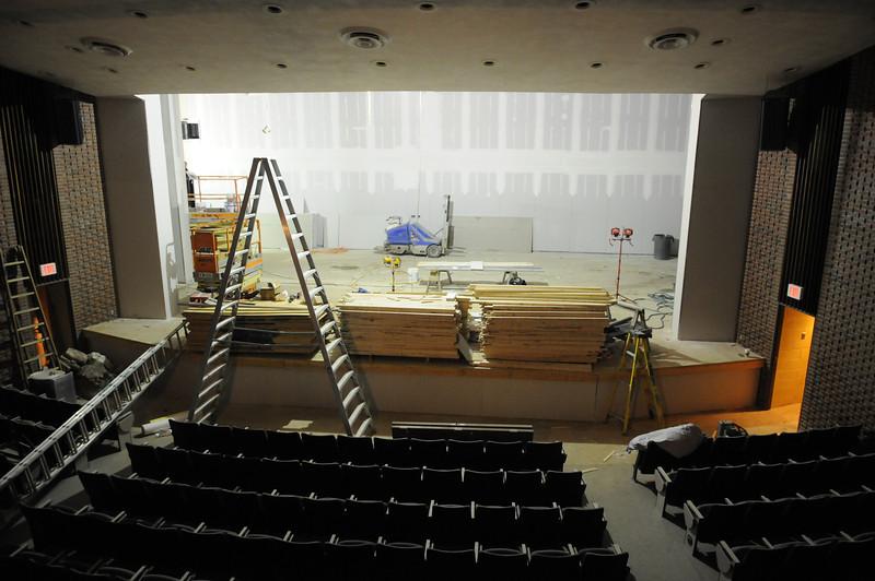 Bart Luedeke Center Theater Construction