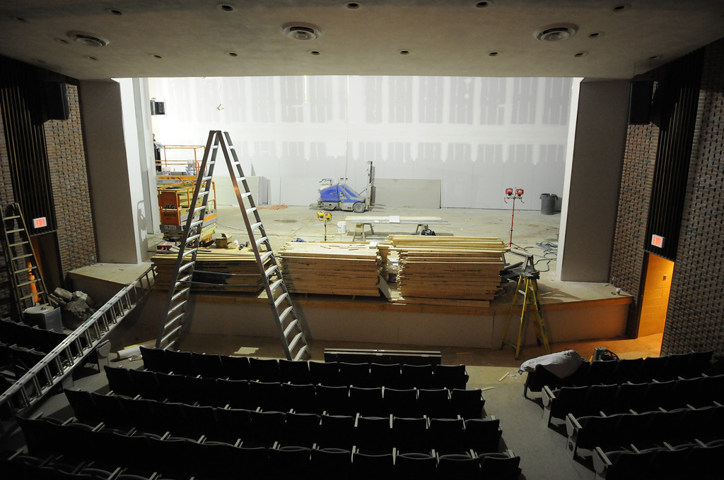Bart Luedeke Center Theater Construction