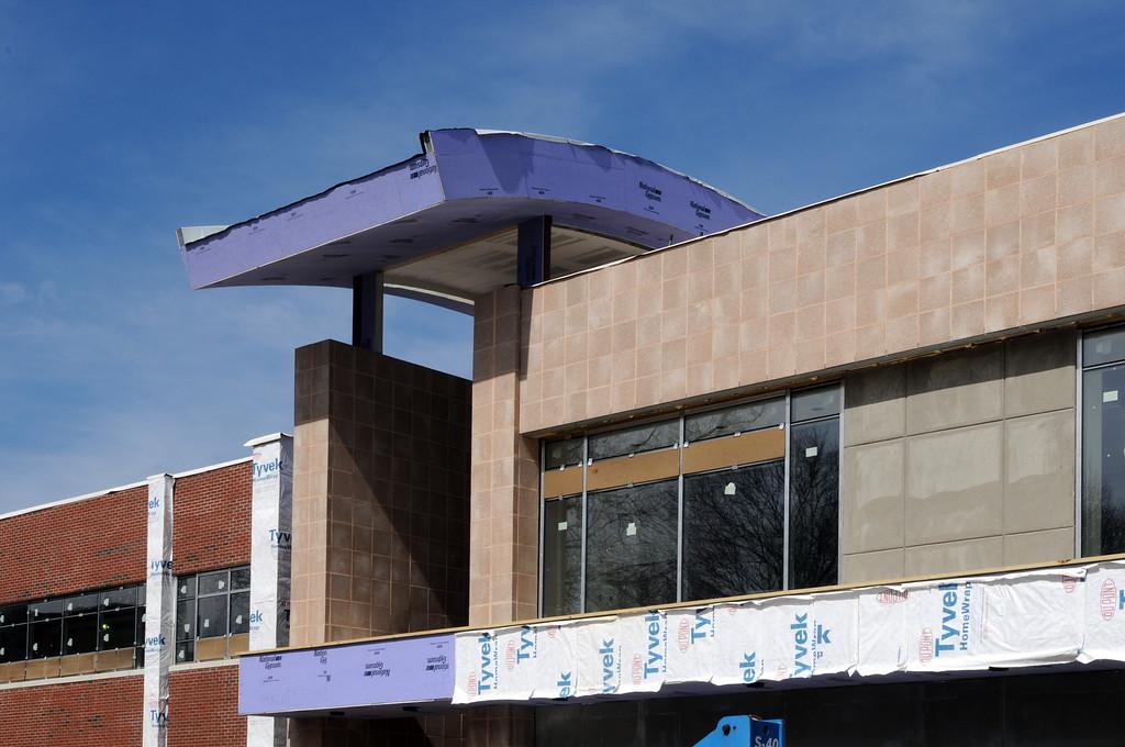 03-15-2011 -- New Academic Building construction
