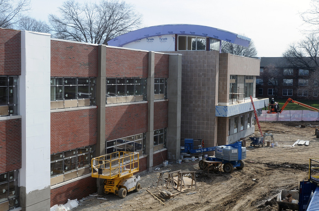 03-30-2011 -- New Academic Building construction