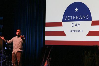 November 13 - Veterans Day
