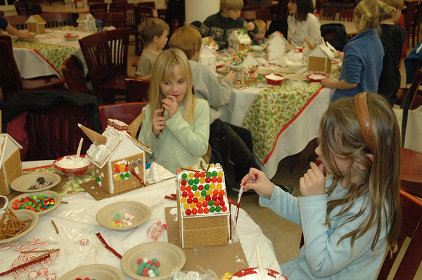 Gingerbread House Party 2011
