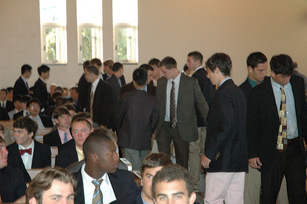 Opening Day Chapel