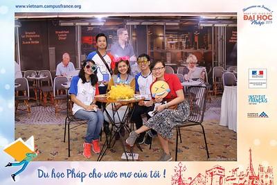 Campus France Vietnam | Bienvenue en France 2019 instant print photobooth @ Rex Hotel Saigon | Chụp ảnh in hình lấy ngay Ngày hội Giáo dục Đại học Pháp tại TP. HCM | Photobooth Saigon