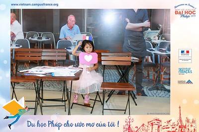 Campus France Vietnam | Bienvenue en France 2019 instant print photobooth @ Pullman Hanoi | Chụp ảnh in hình lấy ngay Ngày hội Giáo dục Đại học Pháp | Photobooth Hanoi