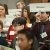 "Delegates raise placards to discuss or vote on a resolution during committee sessions for the Model United Nations of Alaska 2018 Conference in UAA's Rasmuson Hall. The 36th Annual Model U.N. of Alaska conference, hosted by UAA's Department of Political Science, was titled ""Global Cooperation Under Siege.""  <div class=""ss-paypal-button"">180223-MODEL UN-JRE-0027.jpg</div><div class=""ss-paypal-button-end""></div>"
