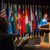 "Delegate for Germany Apol Akoang, from Bartlett High School,  delivers opening remarks for her country during the Model United Nations of Alaska 2018 Conference at UAA's Wendy Williamson Auditorium. The 36th Annual Model U.N. of Alaska conference, hosted by UAA's Department of Political Science, was titled ""Global Cooperation Under Siege.""  <div class=""ss-paypal-button"">180222-MODEL UN-JRE-0974.jpg</div><div class=""ss-paypal-button-end""></div>"