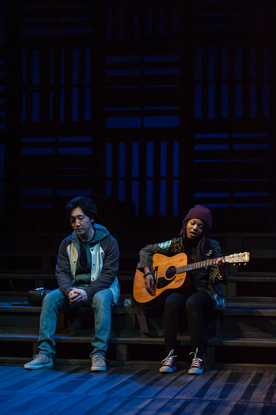 "UAA Theatre and Dance students perform the play ""Rain and Zoe Save the World"" on the main stage of UAA's Fine Arts Building.  <div class=""ss-paypal-button"">180417-RAIN AND ZOE-JRE-0017.jpg</div><div class=""ss-paypal-button-end""></div>"