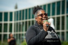 "President of the UAA Black Student Union, Cheryl Cox Williams emcees UAA's Juneteenth celebration on Cuddy Quad.  <div class=""ss-paypal-button"">190619-JUNETEENTH-JRE-0535.jpg</div><div class=""ss-paypal-button-end""></div>"
