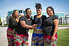 "Performers from Sankofa Dance Theater before their performance at UAA's Juneteenth celebration on Cuddy Quad. From left: Teyshawna Johnson, Misha Baskerville, Kasha Smith-Poynter, and Destiny Stewart.  <div class=""ss-paypal-button"">190619-JUNETEENTH-JRE-0115.jpg</div><div class=""ss-paypal-button-end""></div>"