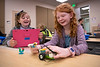 """UAA Summer Engineering Academy students record their progress as they install sensors on their robots during the Lego Robotics Junior Academy in UAA's Engineering and Computation Building.  <div class=""""ss-paypal-button"""">190625-SUMMER ENGINEERING ACADEMY-JRE-0300.jpg</div><div class=""""ss-paypal-button-end""""></div>"""