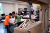 """UAA Summer Engineering Academy students build wood bridges to be tested to failure during the Structure Destruction Academy in UAA's Engineering and Industry Building.  <div class=""""ss-paypal-button"""">190625-SUMMER ENGINEERING ACADEMY-JRE-0557.jpg</div><div class=""""ss-paypal-button-end""""></div>"""