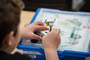 """UAA Summer Engineering Academy students install sensors on their robots during the Lego Robotics Junior Academy in UAA's Engineering and Computation Building.  <div class=""""ss-paypal-button"""">190625-SUMMER ENGINEERING ACADEMY-JRE-0137.jpg</div><div class=""""ss-paypal-button-end""""></div>"""