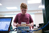 """UAA Summer Engineering Academy students build wood bridges to be tested to failure during the Structure Destruction Academy in UAA's Engineering and Industry Building.  <div class=""""ss-paypal-button"""">190625-SUMMER ENGINEERING ACADEMY-JRE-0610.jpg</div><div class=""""ss-paypal-button-end""""></div>"""