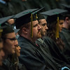 """Adam Foutch, EDUC MAT, waits to be hooded during the UAA Spring 2018 Graduate Degree Hooding Ceremony.  <div class=""""ss-paypal-button""""><div class=""""ss-paypal-button"""">180505-HOODING-JRE-0151.jpg</div><div class=""""ss-paypal-button-end""""></div></div><div class=""""ss-paypal-button-end""""></div>"""